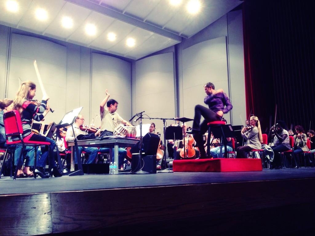 tabla concerto rehearsal 2014